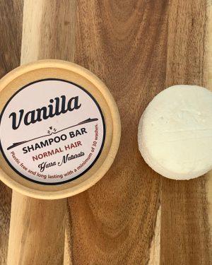 Vanilla Shampoo Bar
