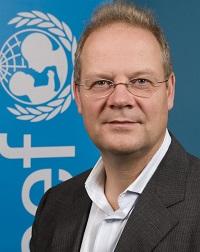 UNICEF Beslenme Bölümü Başkanı Werner Schultink