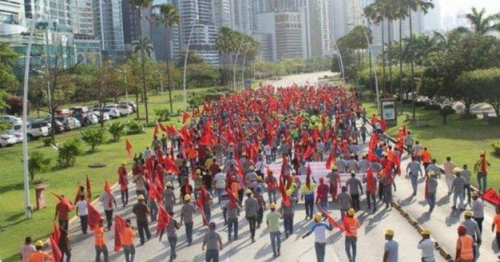 panama inşaat işçileri grevi