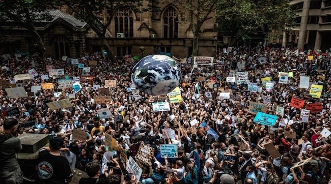 dünya iklim grevi