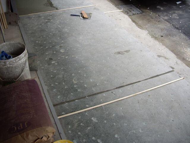 補習班裝潢-騎樓抿石子