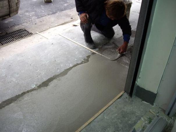 補習班裝潢-水泥工程