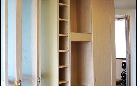 木工裝潢雙面櫃
