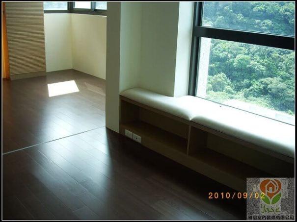 木工裝潢窗邊矮櫃
