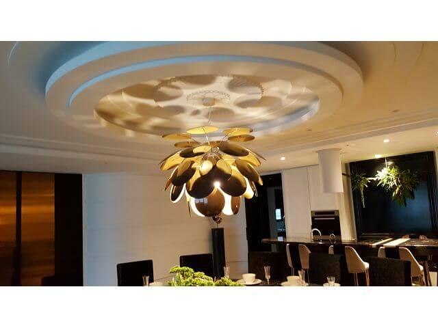 圓形造型天花板
