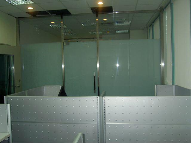 唱片公司裝潢-辦公室玻璃隔間裝潢