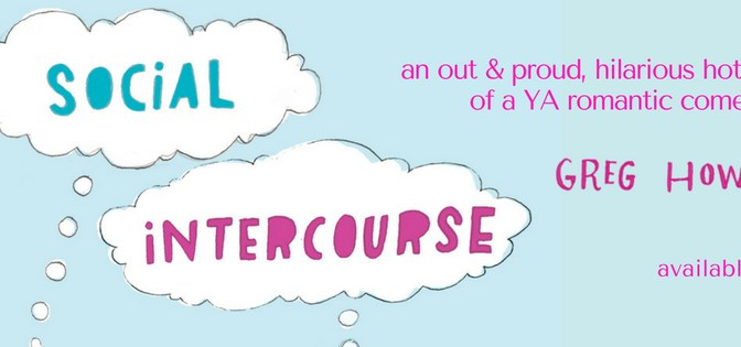 Interview with Greg Howard, Author of Social Intercourse