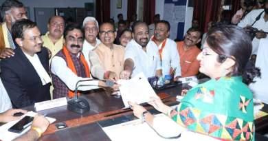 BJP प्रदेश अध्यक्ष राकेश सिंह को नोटिस, बीडी शर्मा, स्वाति, अभिलाष, शरद सहित 8 के खिलाफ FIR, जनिये मामला