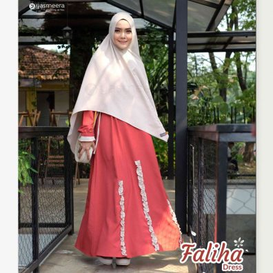 gamis yasmeera faliha dress
