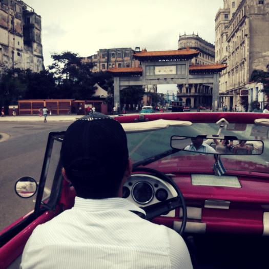Viajar a Cuba: entrada del barrio chino