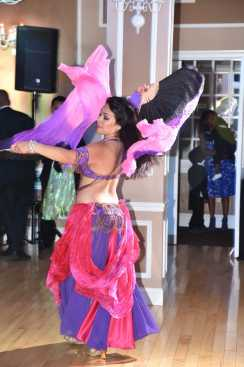 Yasmine Dancing With Two Veils