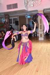 Yasmine Belly Dancing With Fan Veils
