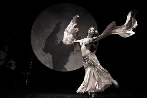 Belly Dance Moon Backdrop