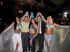 Belly Dancers With Patrons
