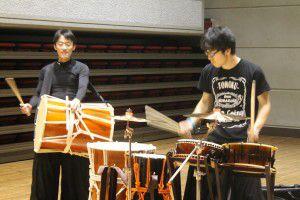 201503193つの事業所合同で、和太鼓演奏会を行いました!2