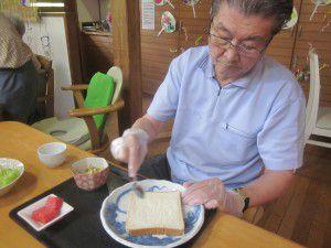 20150711今回はサンドイッチ作りを行いました♪3