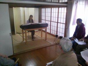 20141213利根川様によるピアノの演奏会がありました。1
