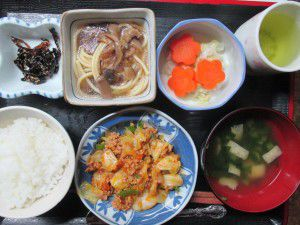 20150415お昼ご飯とおやつ
