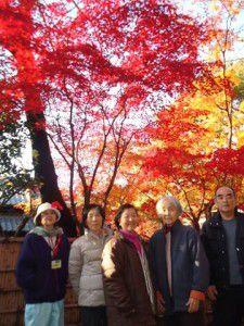 20141124新座市の平林寺に紅葉を観に出かけました。1