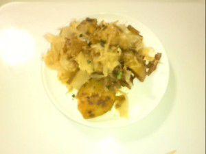 TVで紹介していた料理を作ってみました。