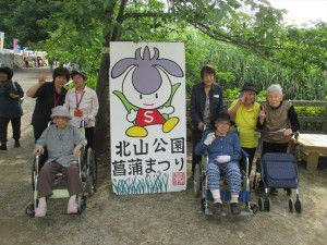 20150615東村山市にある菖蒲園です。