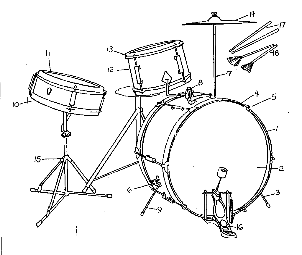 Drum Parts Diagram Pictures To Pin