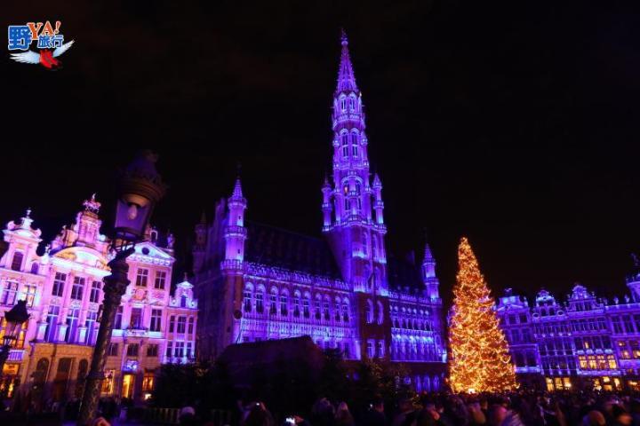 比利時布魯塞爾 看不到金色的黃金大廣場 @YA !野旅行-玩樂全世界