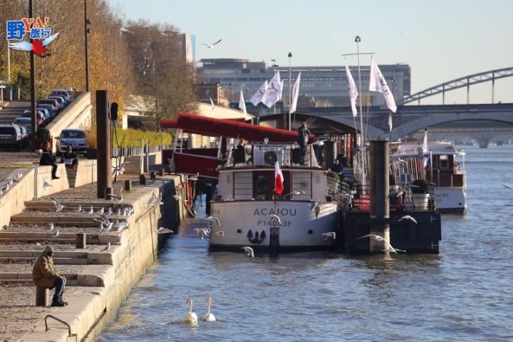 巴黎BATEAUX MOUCHES塞納河遊船 @YA !野旅行-吃喝玩樂全都錄
