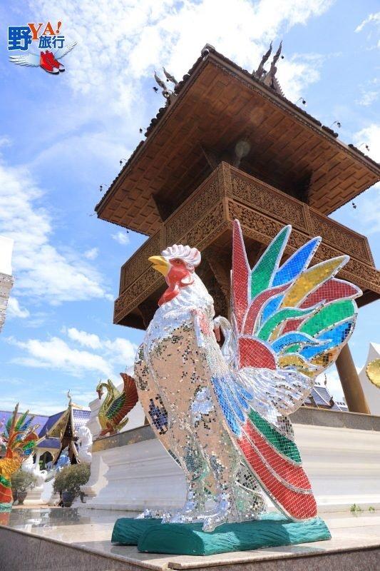 泰北的廟宇不止黑白,這兩間像藍寶石的寺廟此生必去 @YA !野旅行-吃喝玩樂全都錄