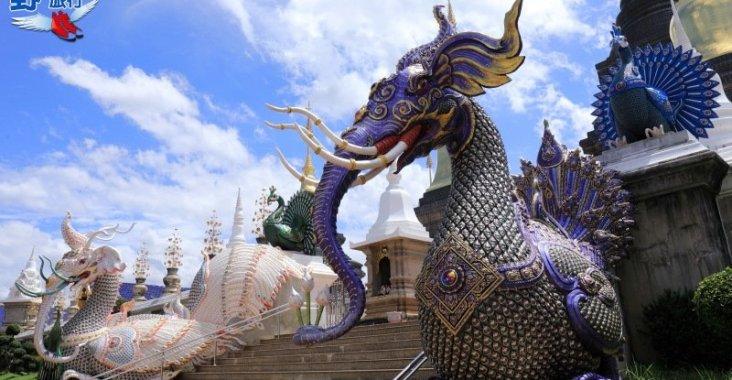 泰北的廟宇不止黑白,這兩間像藍寶石的寺廟此生必去 @YA !野旅行-玩樂全世界