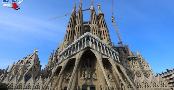 屬於上帝的建築La Sagrada Familia-巴塞隆納聖家堂 @YA 野旅行-陪伴您遨遊四海