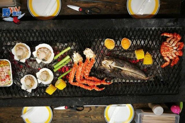 來自北國的美味 道東海鮮燒烤饗宴 @YA !野旅行-吃喝玩樂全都錄
