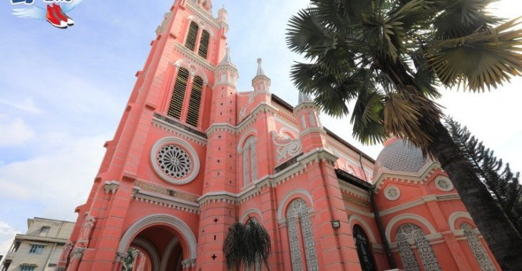 搭乘越航悠遊胡志明市,粉紅色夢幻教堂打卡拍美照 @YA 野旅行-陪伴您遨遊四海