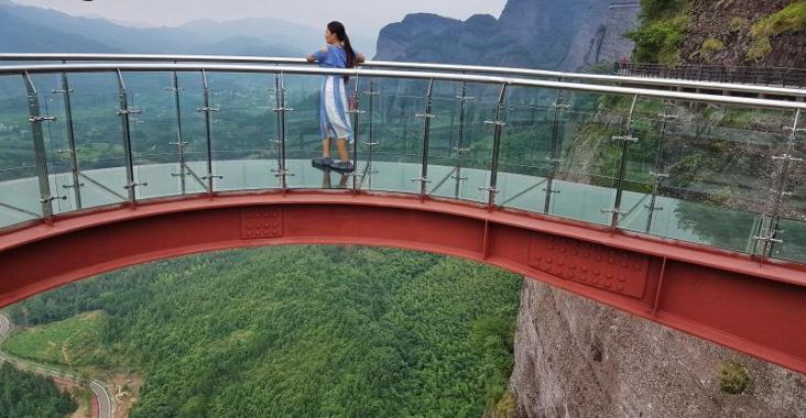 大陸|江西 龍南武當山天空玻璃棧道 @YA !野旅行-玩樂全世界