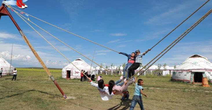 新疆|昭蘇 游牧民族的歡樂體驗 阿克奇民俗村 @YA 野旅行-陪伴您遨遊四海