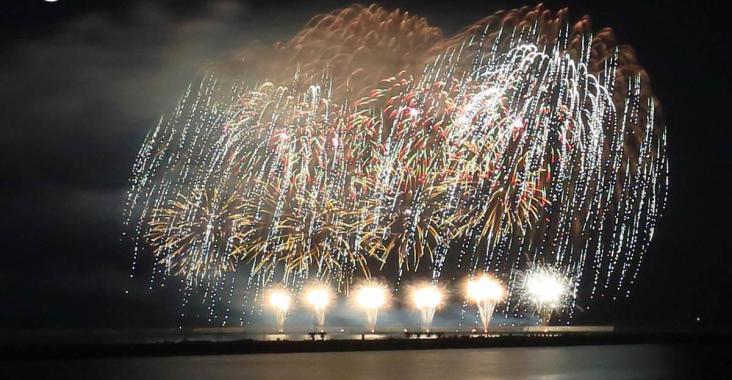 台灣|花蓮 2018花蓮國慶煙火最佳觀賞地點在這裡 @YA !野旅行-玩樂全世界