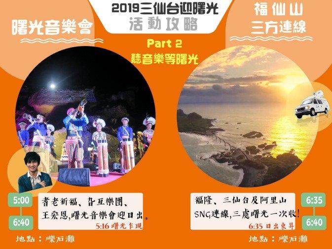 台東 成功 2019三仙台元旦迎曙光活動攻略 @YA !野旅行-吃喝玩樂全都錄