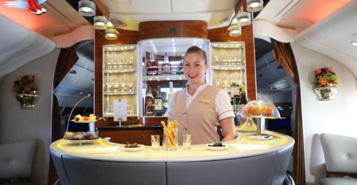 阿聯酋航空A380 極致奢華的空中體驗 @YA !野旅行-玩樂全世界