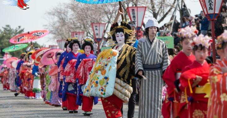 日本|新潟 四月春櫻繽紛絢爛 高田城百萬櫻花會 @YA !野旅行-玩樂全世界