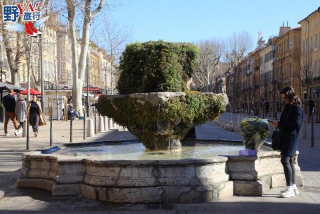 法國 艾克斯 Aix-en-Provence 南法噴泉之都 @YA !野旅行-吃喝玩樂全都錄