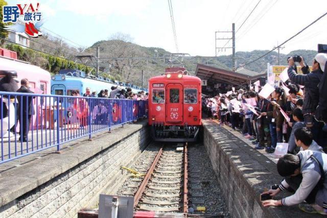 【和歌山縣】 緣份滿載的紅色鯛魚列車誕生了!! @YA 野旅行-陪伴您遨遊四海