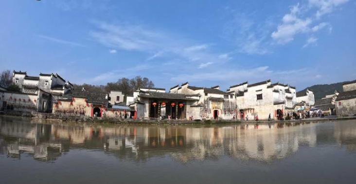 中國安徽 傳承千年皖南宏村 正統徽派建築世界遺產 @YA !野旅行-玩樂全世界