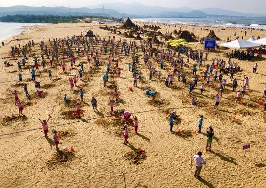 2019福隆國際沙雕藝術季 挑戰金氏世界紀錄-最多人同時創作沙雕大成功 @YA 野旅行-陪伴您遨遊四海