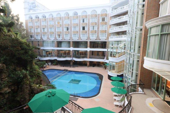 溪頭米堤飯店全面防疫  邀旅人上山做森林浴瀑布早操 @YA !野旅行-吃喝玩樂全都錄
