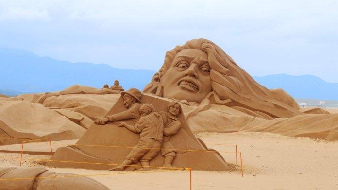 2020福隆國際沙雕藝術季開幕 巨人的夢遊世界邀您踏入小人國冒險旅程 @YA 野旅行-陪伴您遨遊四海