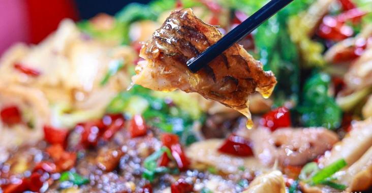 台中美食城裡來的巫山烤魚 麻辣鮮香川味一絕 @YA 野旅行-陪伴您遨遊四海