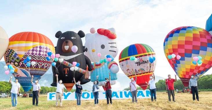 FLY FOR TAIWAN! HELLO KITTY熱氣球首航為臺灣而飛 @YA !野旅行-吃喝玩樂全都錄