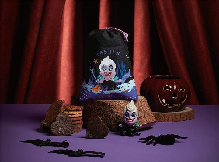Aunt Stella萬聖節驚喜推出「迪士尼反派系列組合束口袋」  集結三大人氣角色釋放Q版黑心勢力 十款經典口味手工餅乾一次品嚐 @YA !野旅行-吃喝玩樂全都錄