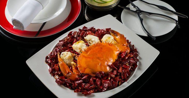 秋季品蟹正當時 台北遠東香格里拉上海醉月樓、香宮  聯手推出「秋蟹饗宴」 @YA !野旅行-吃喝玩樂全都錄
