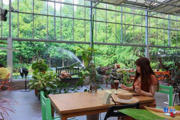 田尾菁芳園網美打卡熱點 全台最大玻璃屋景觀餐廳 @YA !野旅行-吃喝玩樂全都錄